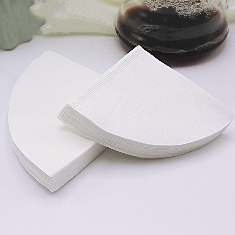 Cone Form Coffeet Filter Bag 50 шт. Рука завариваемые кофе Фильтры Бумажные пакеты Кафе Порошковые бумаги Новое Прибытие 8nb L1