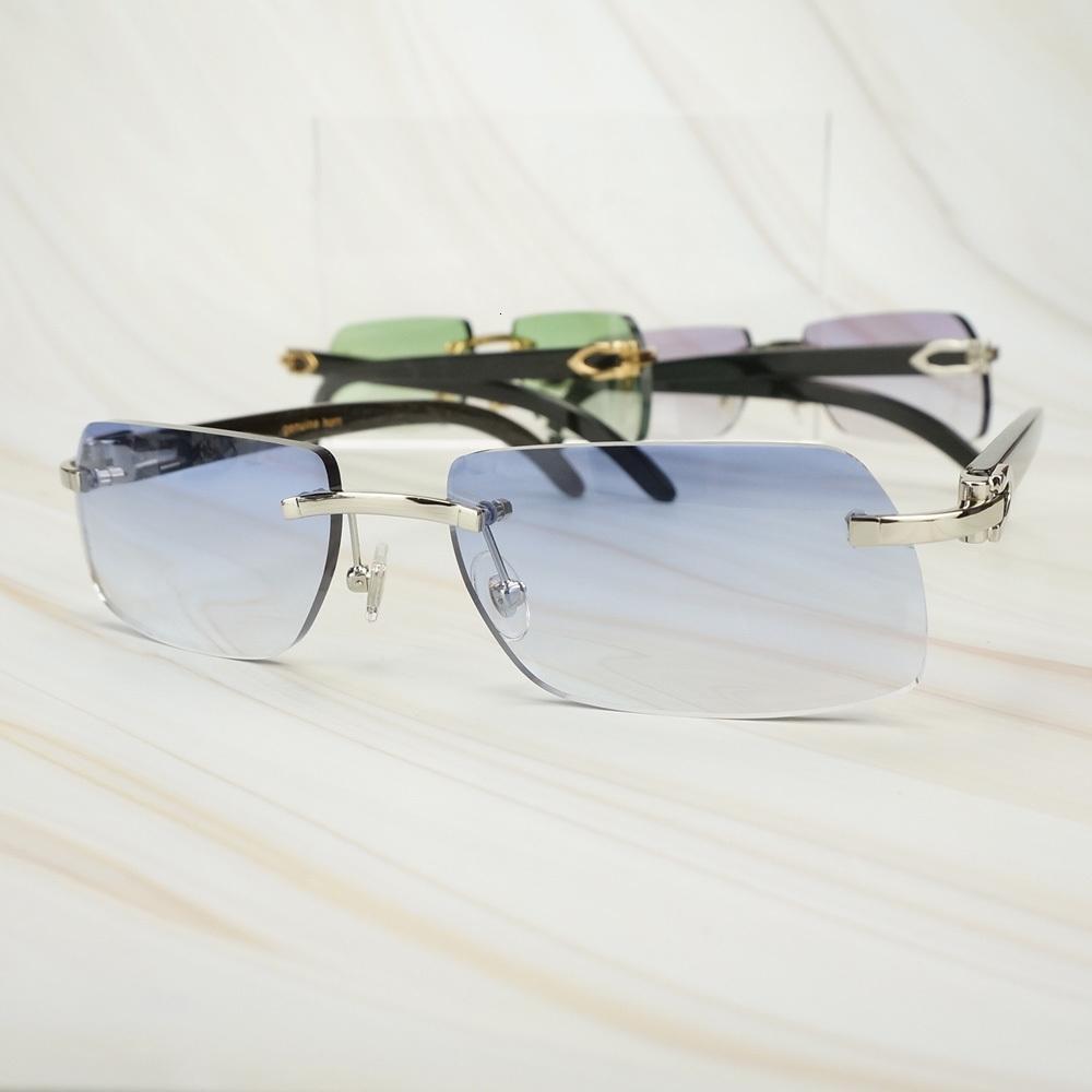 Black Horn Retro Kreis Sonnenbrille Männer Trendige Mädchen Sonnenbrille Carter Sun Gläser Für Frauen Gelbe Sonnenglasende Neue Ankunft