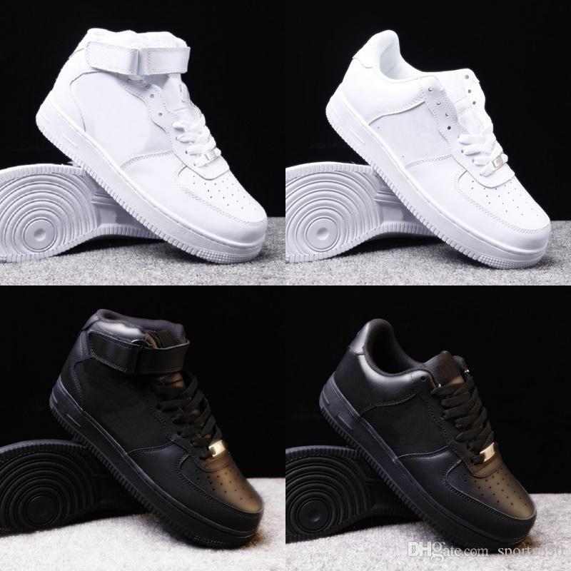 2020 Новой Повседневная обувь для мужчин, женщин белого черных Мужских кроссовок Sports Открытого размера ботинок EUr 36-45 DH66-12123