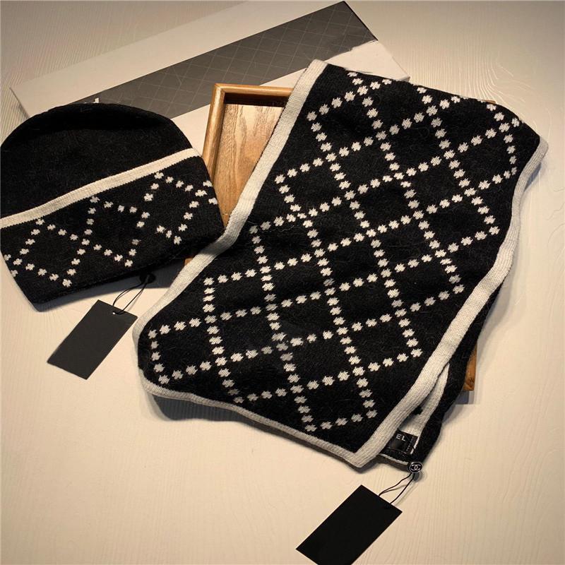 2020 Designs Klassischer Hut und Schal! Warm, super komfortabel, warm und modisch! Unisex-Modelle! Du kannst ein Paar sein! Kostenlose Lieferung