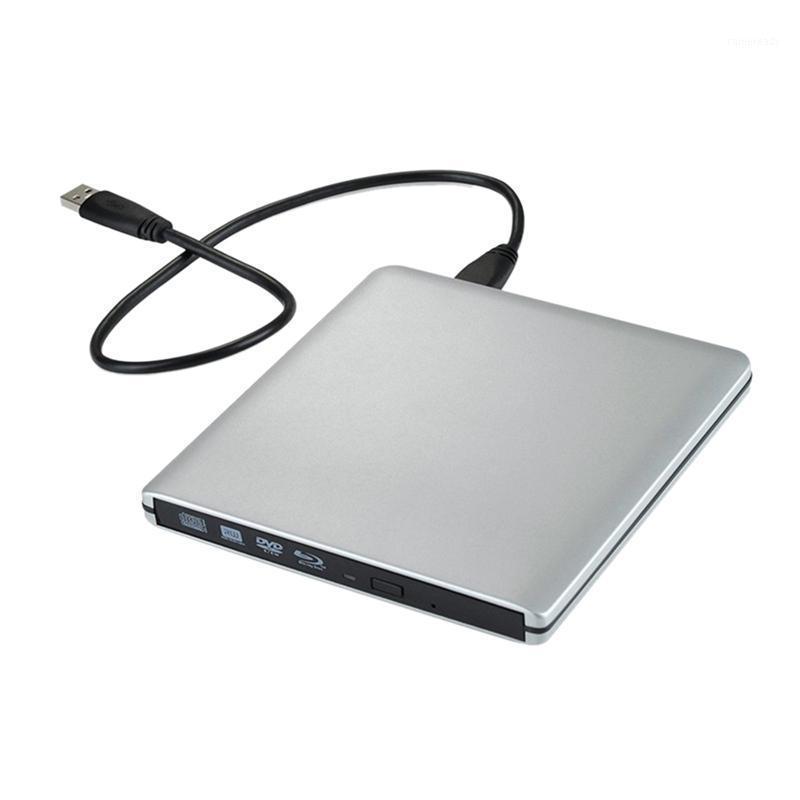 USB3.0 Support portable en alliage d'aluminium ultra-mince d'alliage d'aluminium ultra-mince pour la lecture et l'écriture de disques Universal1