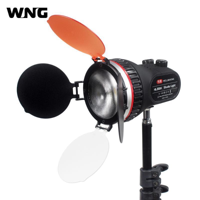 30W DSLR LED Video Light On Camera Photo Studio Lighting Hot Shoe LED Vlog Fill Light Lamp for DSLR SLR Camera Spotlight