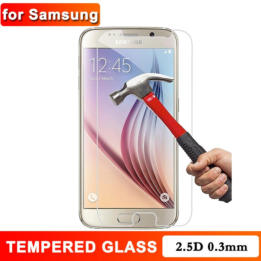 Tempered Glass for Samsung J8 Plus J7 A8 A6 Plus J5 J2Prime J4 Plus 0.3mm Screen Protector Anti Scratch Anti-fingerprint