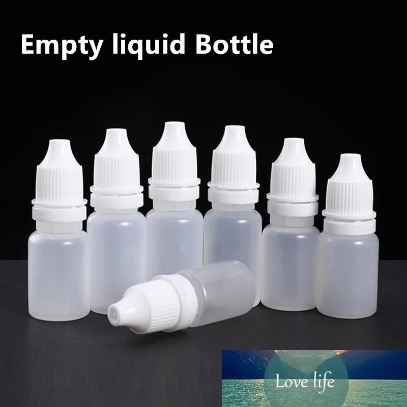 Пустой 10мл пластиковые капельницы бутылки для жидкого масла Диспенсер бутылки мягкий контейнер для хранения 10pcs / lot