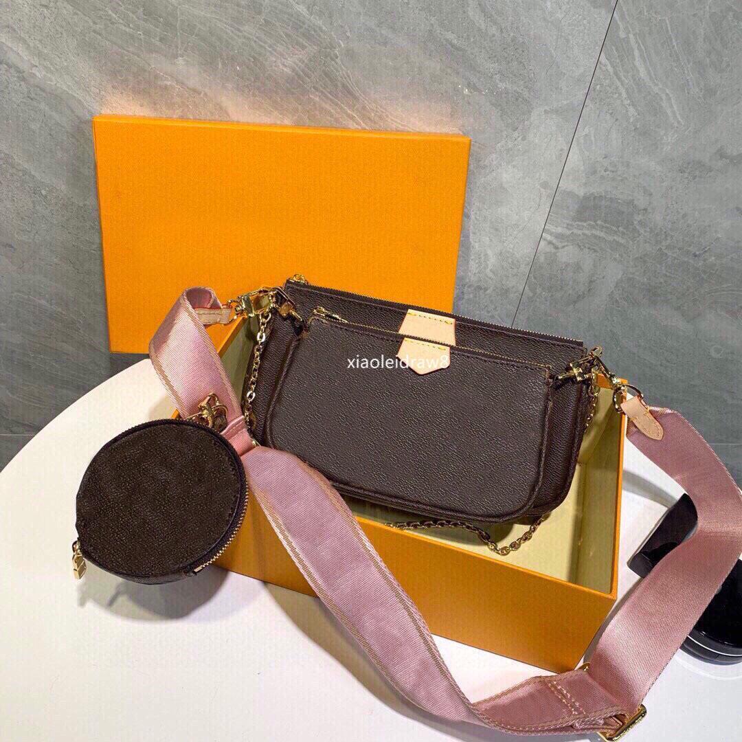 Moda Mujeres Mejores Ladies Bolsa de un solo hombro Satchel Tote Purse Messenger Crossbody Handbagt Wallet New Classic Wallet