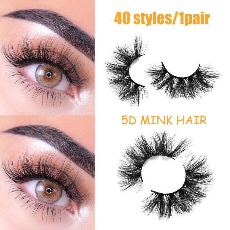 6D Mink Lashes 100% Haar Mink 3D Wimpern und Wimpern Verlängerung Handgemachte Vollbandwimpern Beauty Magnetic Make up