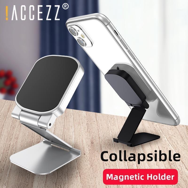 ! Accezz Magnetic Holder для 11 PRO MAX X в автомобиле Универсальный стол планшетный складной стенд настольный магнитный брекет1