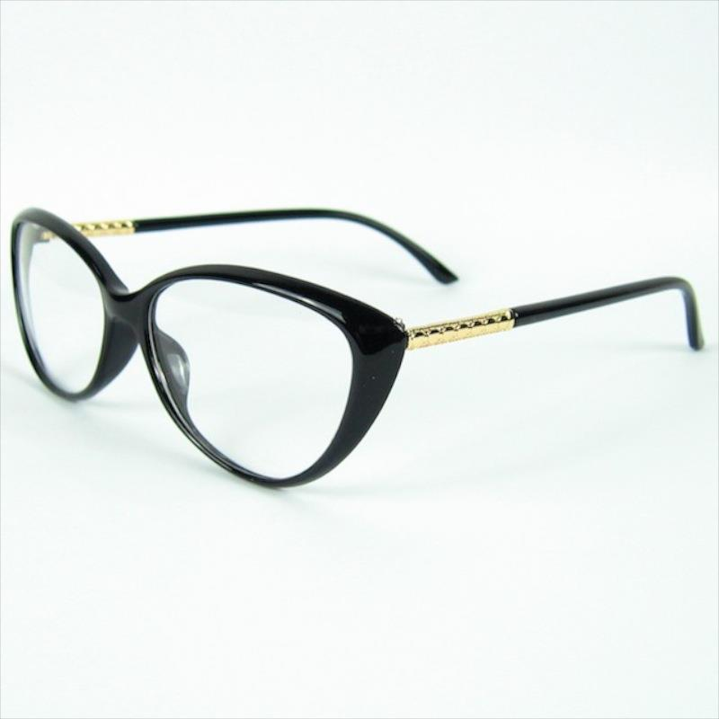 Curve Cat Design Eye Moda Moda Moda Mulheres Amor Forma Óculos Decoração Quadro óptico Óptica Óculos Óculos Snweo