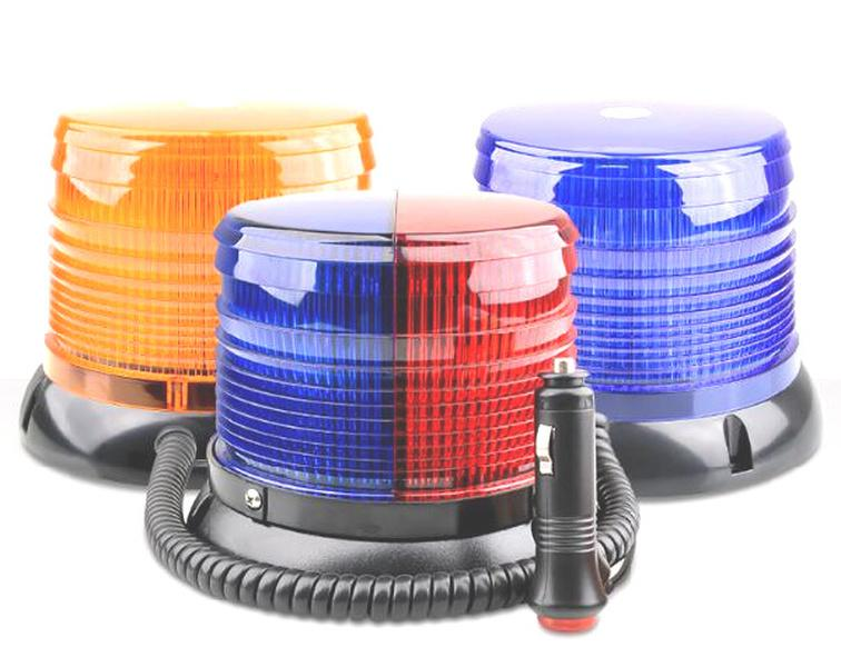 DC12 / 24V helles 18W LED-Warnschnee, Auto-Strobe-Warnbeleuchtung, Notlicht mit Magnetik für Polizei, Krankenwagen, Feuerwehrauto wasserdicht