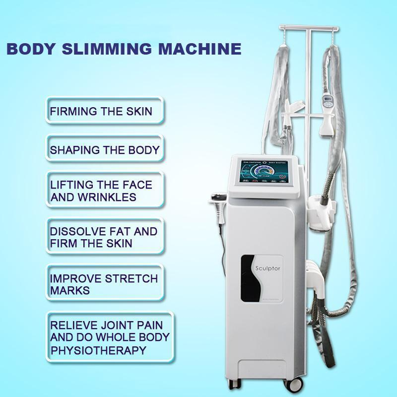High quality cellulite reduction body slimming device vela shape weight loss machine cavitation skin tightening ce