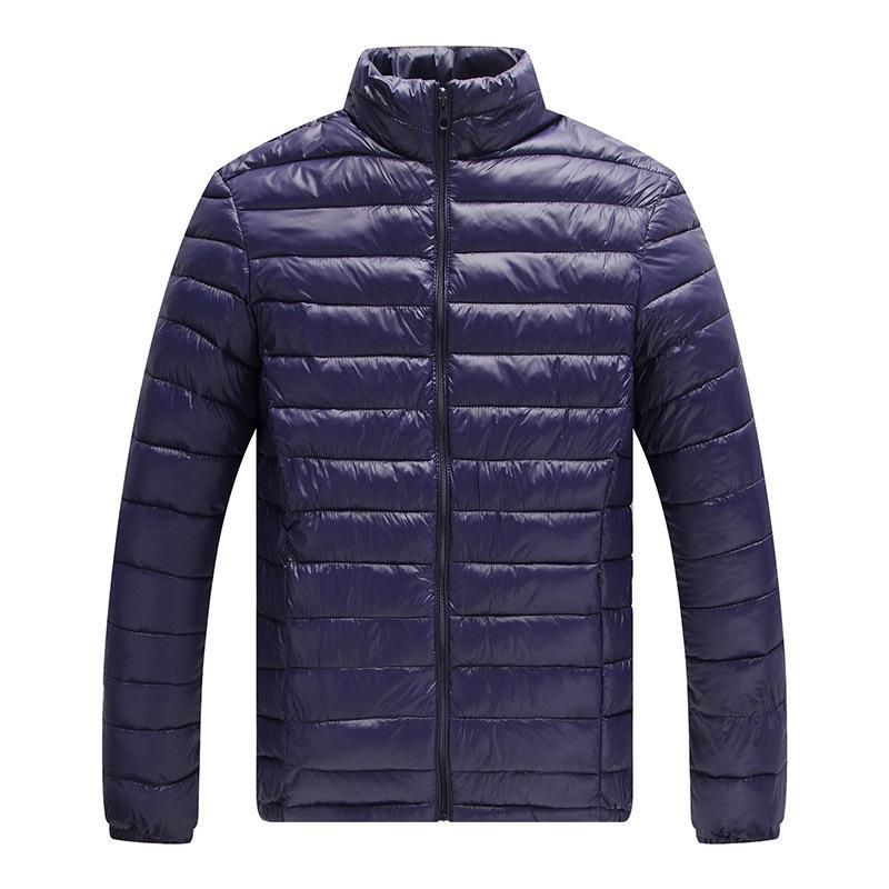 2020 Marka Erkek Ceket Anlamsız Paragraf Aşağı Erkek Yaka Kısa Sıcak Pamuk dolgulu Giyim Ceket Pamuk-yastıklı