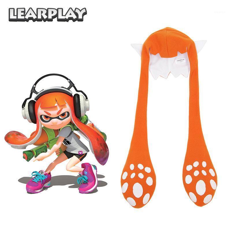 Аксессуары костюмы Splatoon 2 Splatfest Inkling Squid Cosplay Hat Маска Партия Балаклава Смешные Карнивы Костюмы подарок для взрослых детей 742508000