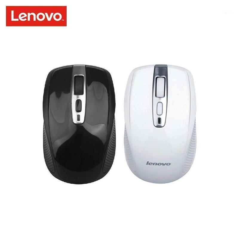 MICE Оригинал Lenovo N110 Беспроводная мышь Двухсторонний Ролик с 2,4 ГГц 1600DPI Поддержка Официальная проверка для ноутбука1