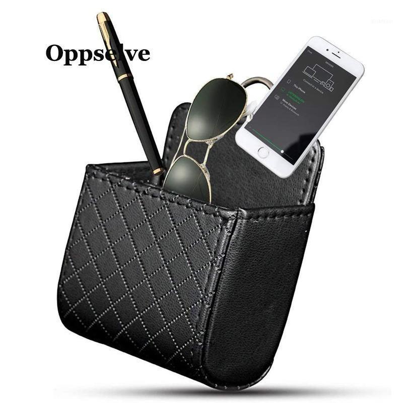 Saco de suporte de suporte de porta do telefone celular para Huawei P30 P30 P20 GPS Air Vent Stand 7 12 11 Armazenamento Bag1