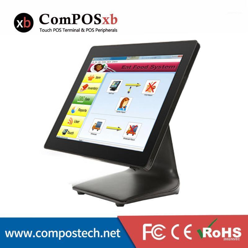 Мониторы хорошее качество 15 '' машина с черной сенсорной системой экрана все в одной Windows1