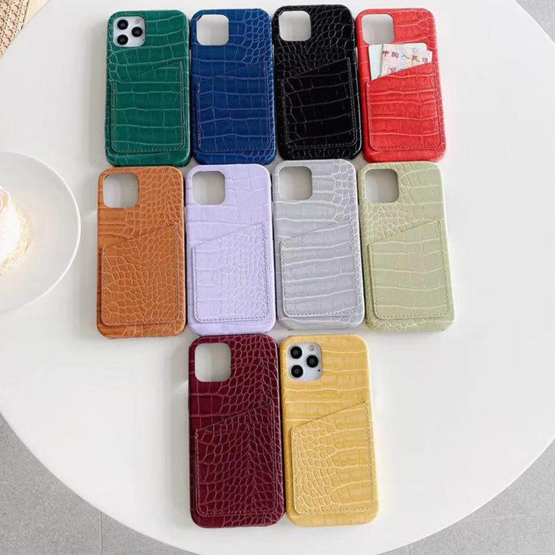 Дела сотовый телефон с картой памяти Карман для Apple Iphone 11 XR XS Phone Protector Кожа Аксессуары для мобильных телефонов