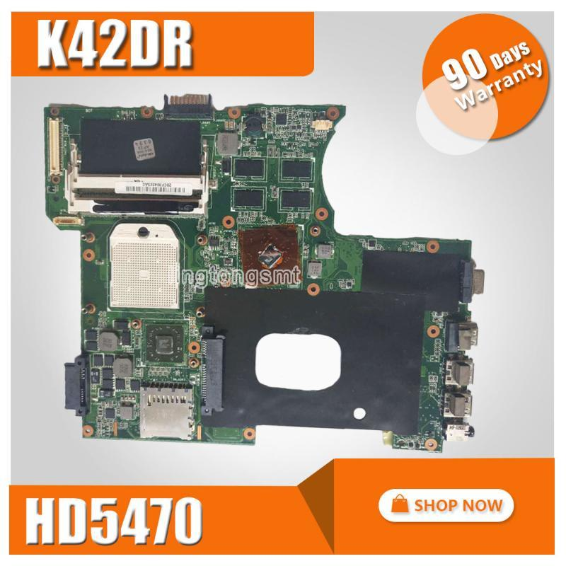 K42DR Motherboard 1GB HD5470 For Asus A42DE K42D A42DR K42DE K42 X42D Laptop motherboard K42DR Mainboard
