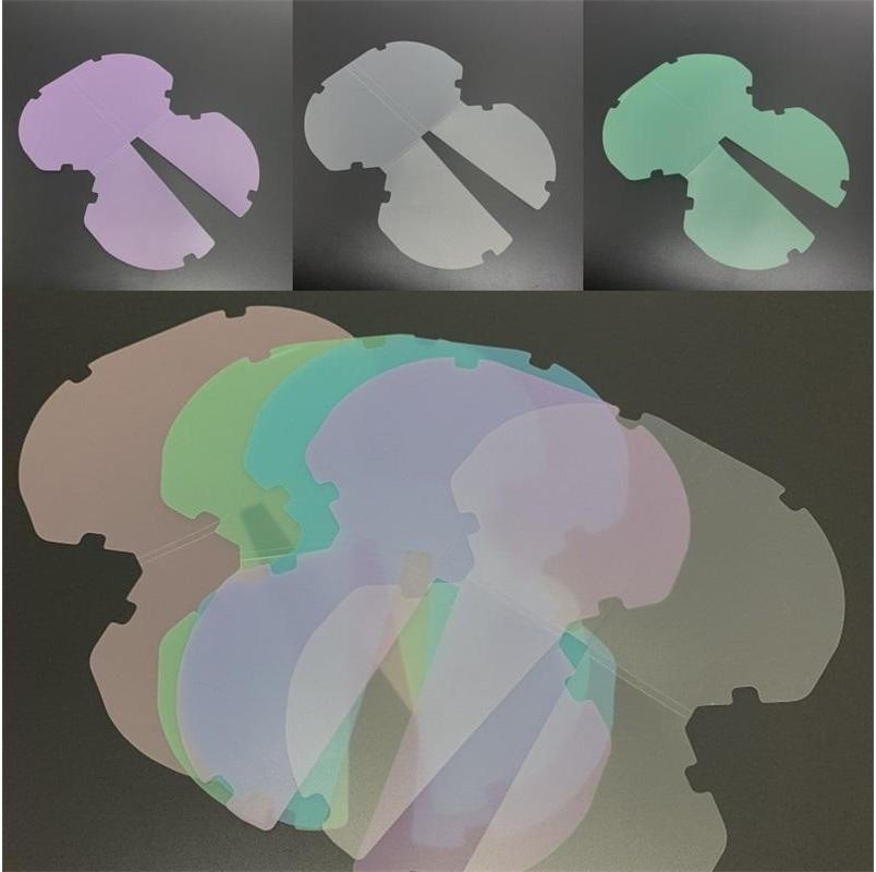 Frosting Storage Folder Mask Case Plastic Dust Proof Folders Face Masks Holder Portable Fashion Multi Color 0 75zl G2