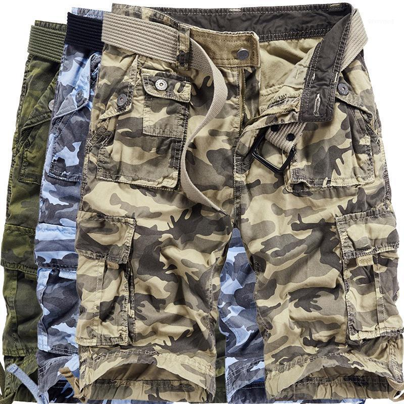 Camouflage Shorts Men Summer Fashion Camo Shorts Men's Casual Plus Size 29-40 Y32391