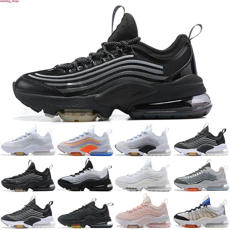 Max Zoom 950 2020 Cojines para mujer para hombre de los zapatos corrientes ZM 950 triples blancas de colores Negro Japón voltios de neón del arco iris Entrenadores Sport