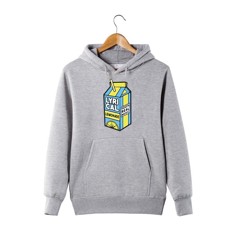 Hoodie lírico de limonada 100% música real hoodie engraçado para homens / mulheres Lyrical limonada pulôver chapeleiro Sweatershirt LJ201029