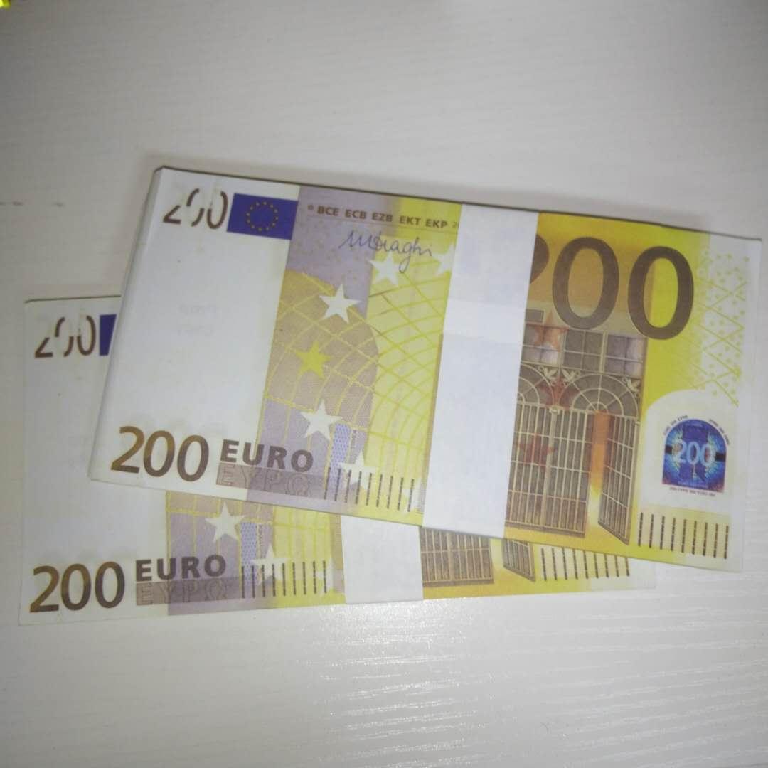 Nuove propo del denaro contraffazione Euro 200 Bar Atmosphere Stage Party Bar Atmosphere Billet Faux Billet Le200-20
