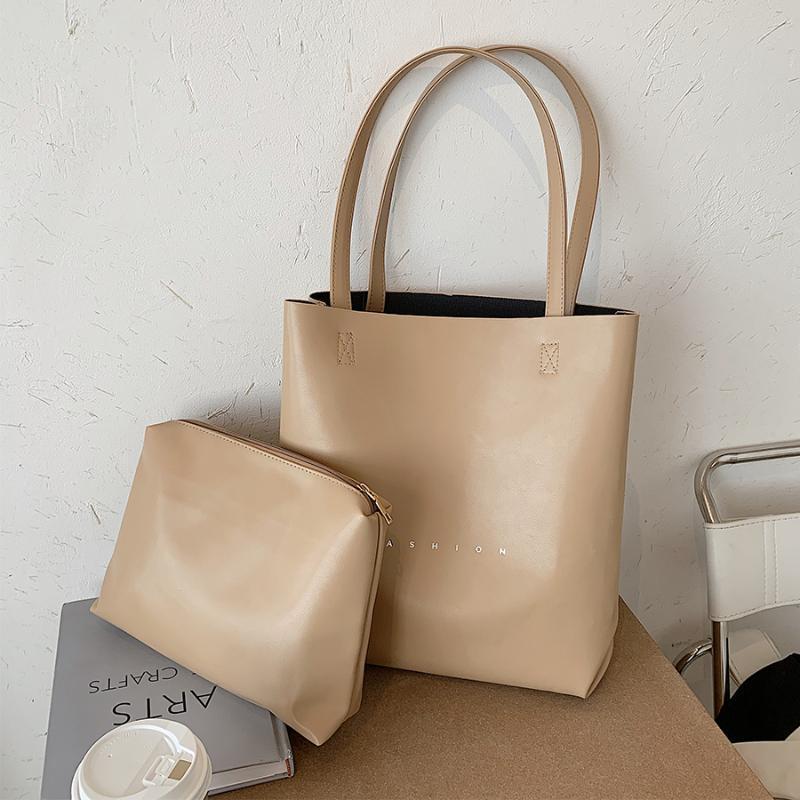 Sacos capacidade grande moda mulheres pu para bolsas de ombro feminino feminino 2020 balde saco de couro feminino bolsa de couro de tendência de tendência de tendência grande viagem grande igwki