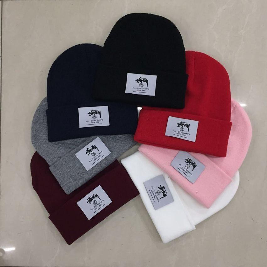 Шерсть мода Марки Осень Зима Весна Lovers Студенты Hip Hop Холодные корейской версия Универсальная вязаная шапочка Теплой Открытого XV5U