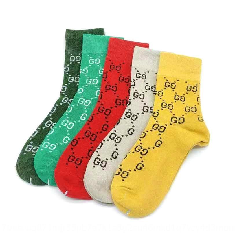 Xt06 Unisex Seta Socks Carta Warmer Cotton Stripe Sock Moda Hip Hop Meias Clássico Skate Basquetebol Meias Personalidade Casal Sock