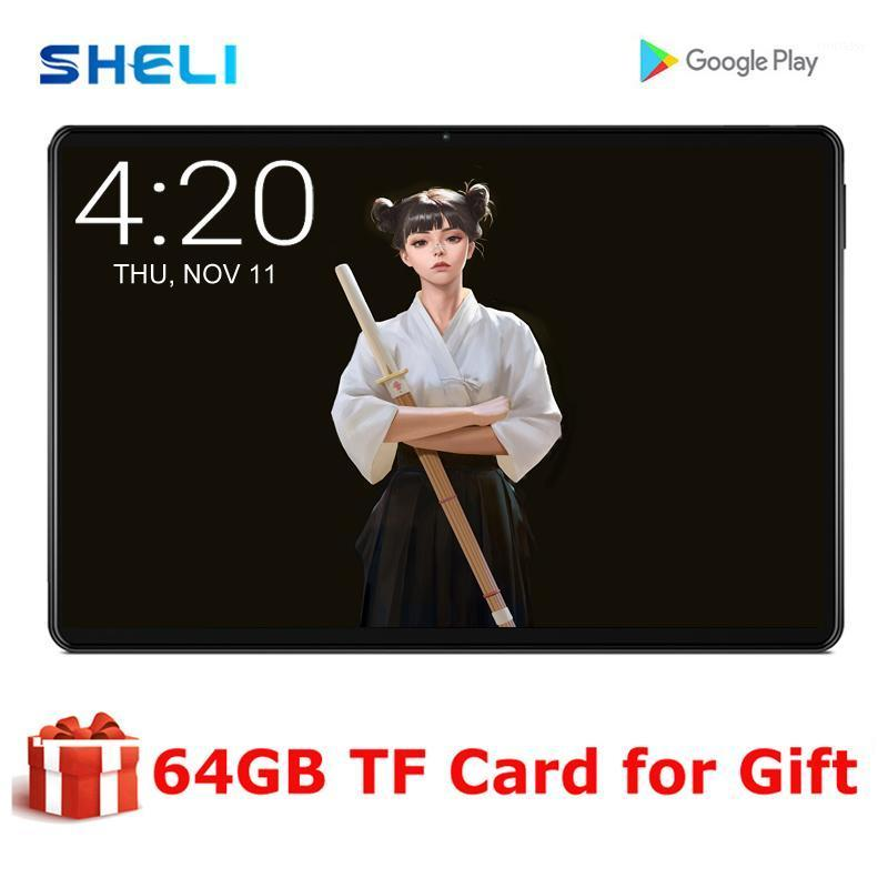 Tablet PC 10 pollici Android 9.0 4G FDD LTE Phone Cell Phone 3 GB RAM 32GB ROM Octa Core 2.5D Schermo in vetro 5G WiFi GPS 10.11