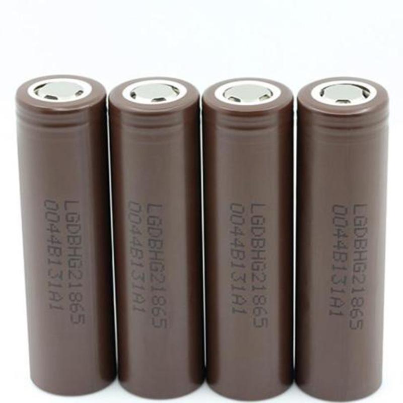 Batteria di alta qualità HG2 IMR 18650 Brown Brown 3000mAh 20A 3.7 V di scarico ricaricabile per la batteria altium al litio ricaricabile per LG