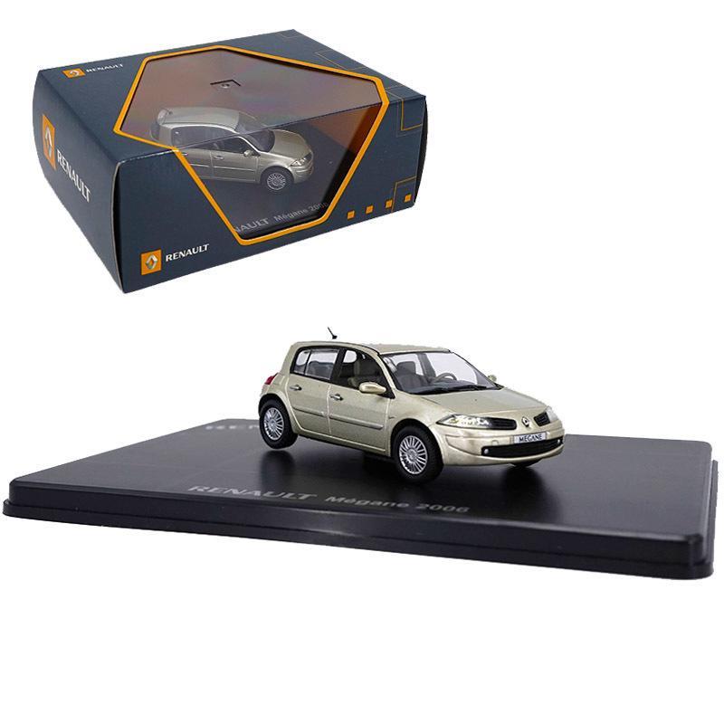 Diecast сплава Renault Megane хэтчбек 1/43 Scale 2006 модель автомобиля автомобиль металл движение коллекция искусства детям подарки показать