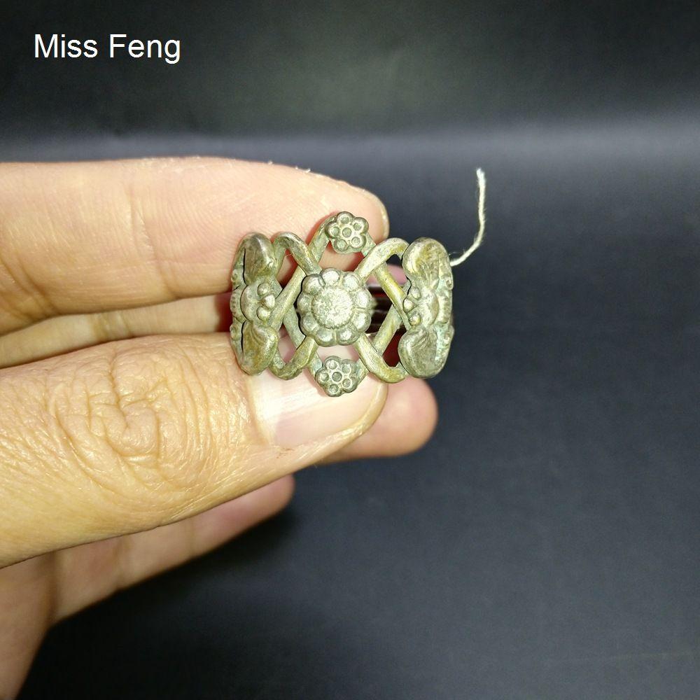 Cuatro Ring Puzzle Modelo Cerebral Teaser Intelligence juego Alivio del estrés Cultura China Regalo Colección de juguetes