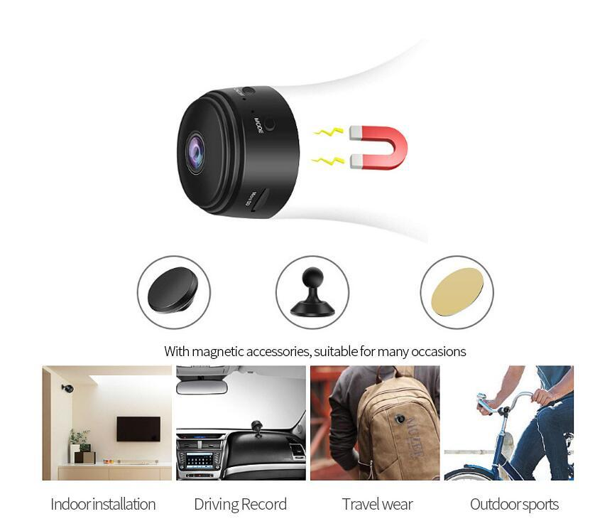 A9 Wifi Mini Ip Camera Outdoor Night Version Micro Camera Camcorder Voice Video Recorder Security Hd Wireless Mini Camcorders 2020