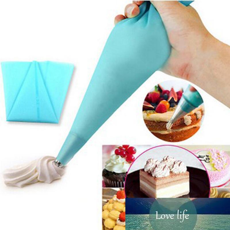 Nuevo bolso de confitería Silicona glaseado crema pastelería bocada boquilla DIY Torta Decoración Hornear Herramientas de decoración para pasteles Fondant