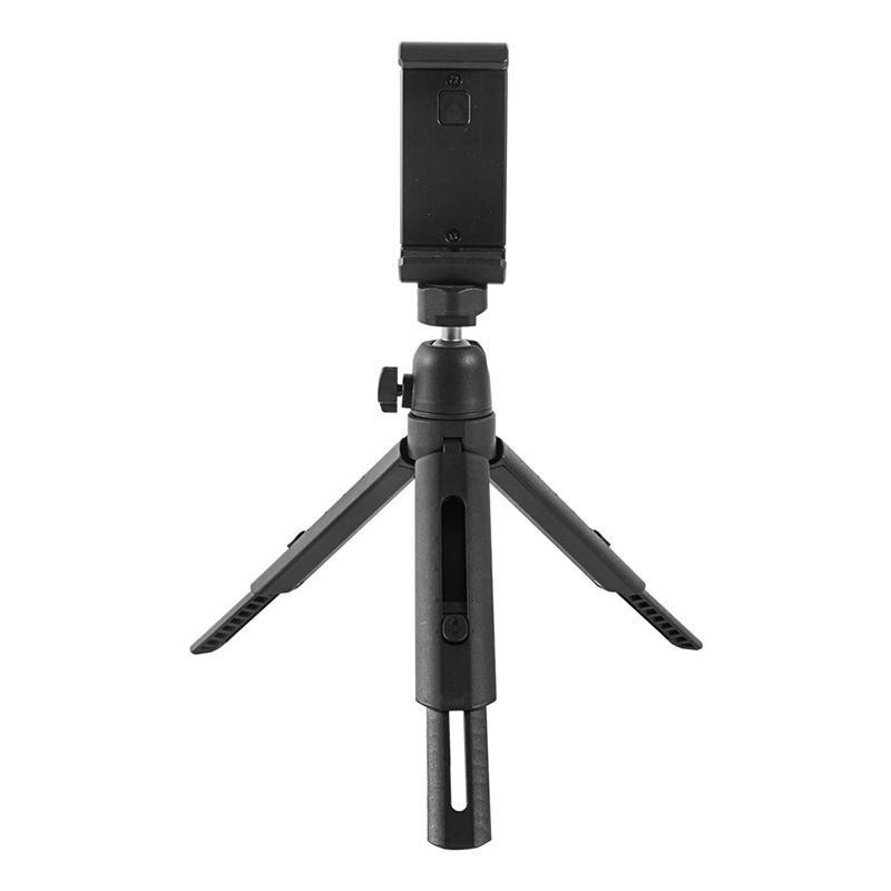 DSLR SLR Telefon Vlog Tripod Soğuk Ayakkabı Telefon DSLR Kamera için Mikrofon Mini Tripod Için Montaj Tutucu