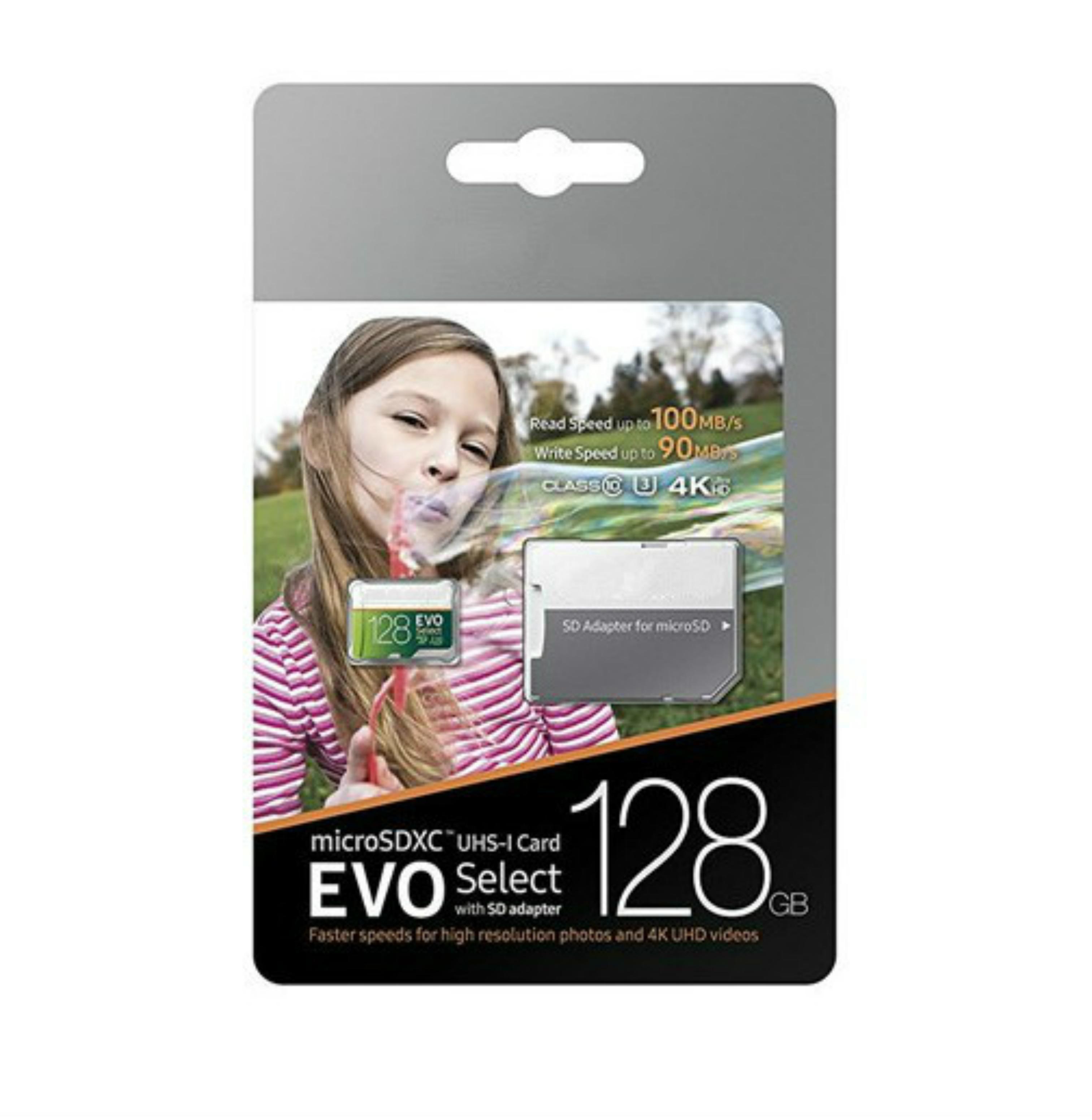 DHL Shipping 16GB / 32GB / 64GB / 128GB / 256GB Samsung Evo Выберите Micro SD Card / Smartphone Card Card / Car Recorder TF Card / SDXC карта памяти 100 МБ
