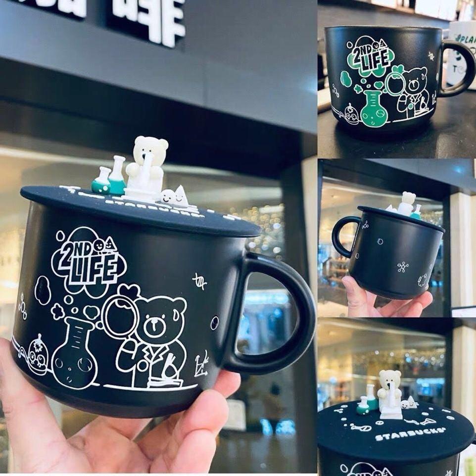 A cor 400-500ml mudando starbucks copo luxo copos casal canecas de cerâmica com tampas de manhã caneca leite café café da manhã dia dos namorados