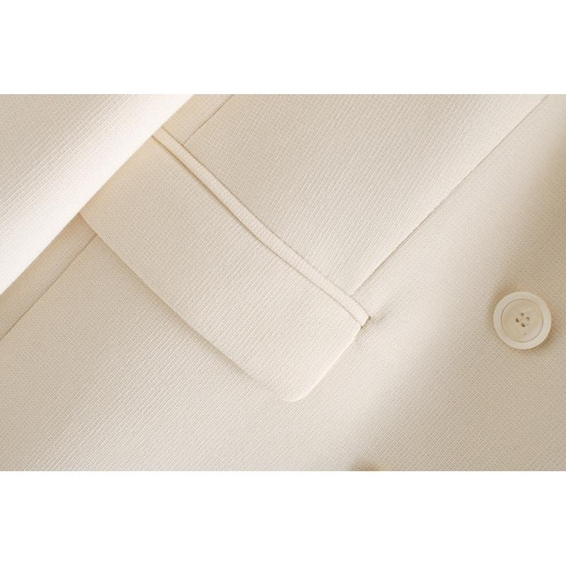 Toppies white blazer for women summer blazer double breasted jackets ladies formal suit jackets 201013