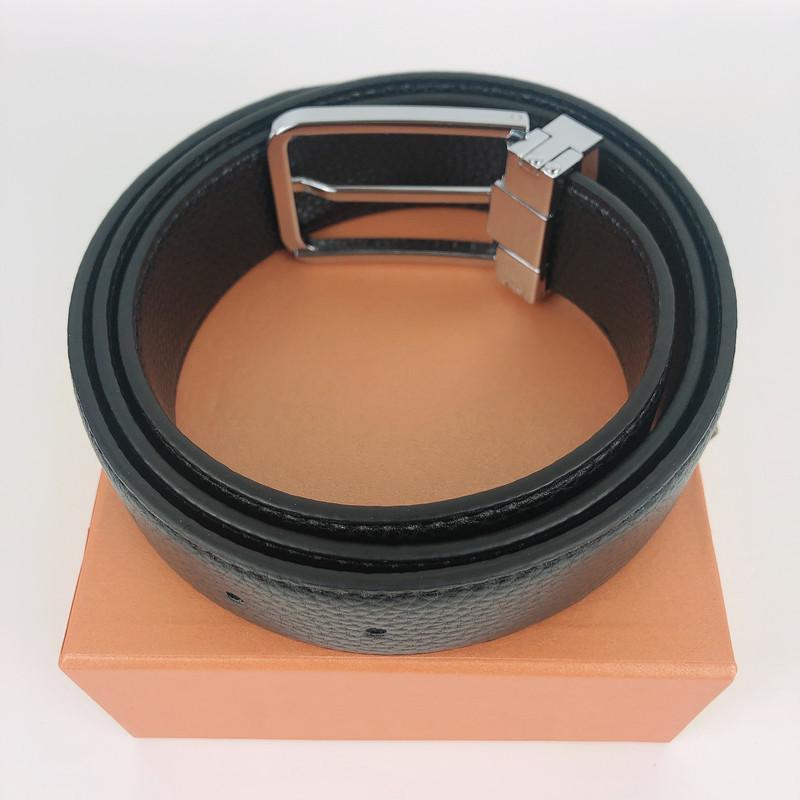 أحزمة الفاخرة الأزياء أحزمة الرجال حزام المرأة حزام دبوس مشبك جلد طبيعي حزام الأحزمة الكلاسيكية عرض ceinture 3.4 سنتيمتر مع هدية مربع