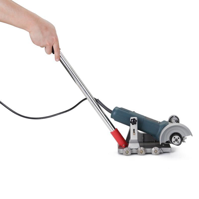 2020 أدوات NEW تنظيف المنازل بلاط آلة تنظيف التماس التعديل القوس الطابق بلاط السيراميك آلة الفجوة حامل الإطار