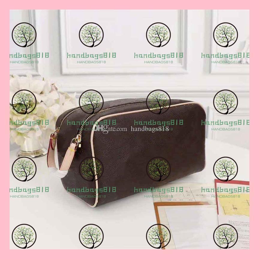 المرأة حقيبة مستحضرات التجميل حقيبة مستحضرات التجميل أكياس الشهيرة السيدات المحافظ أكياس حقيبة مستحضرات التجميل اليابانية والكورية صغيرة جديدة