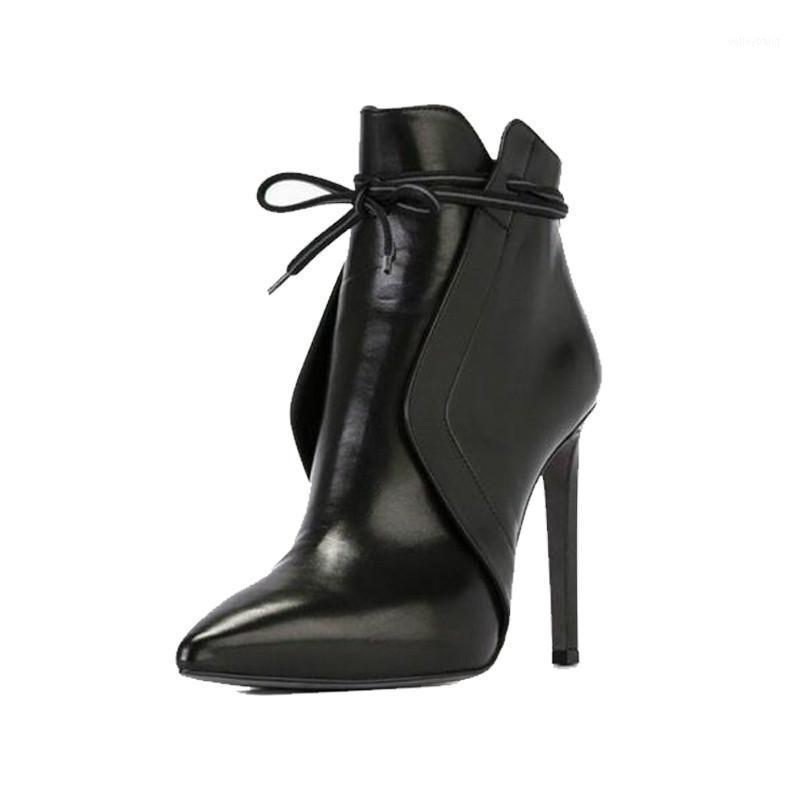 2020 Новые сексуальные заостренные сапоги Европейская и американская платформа STILETTO Обнаженные женщины высокие каблуки1