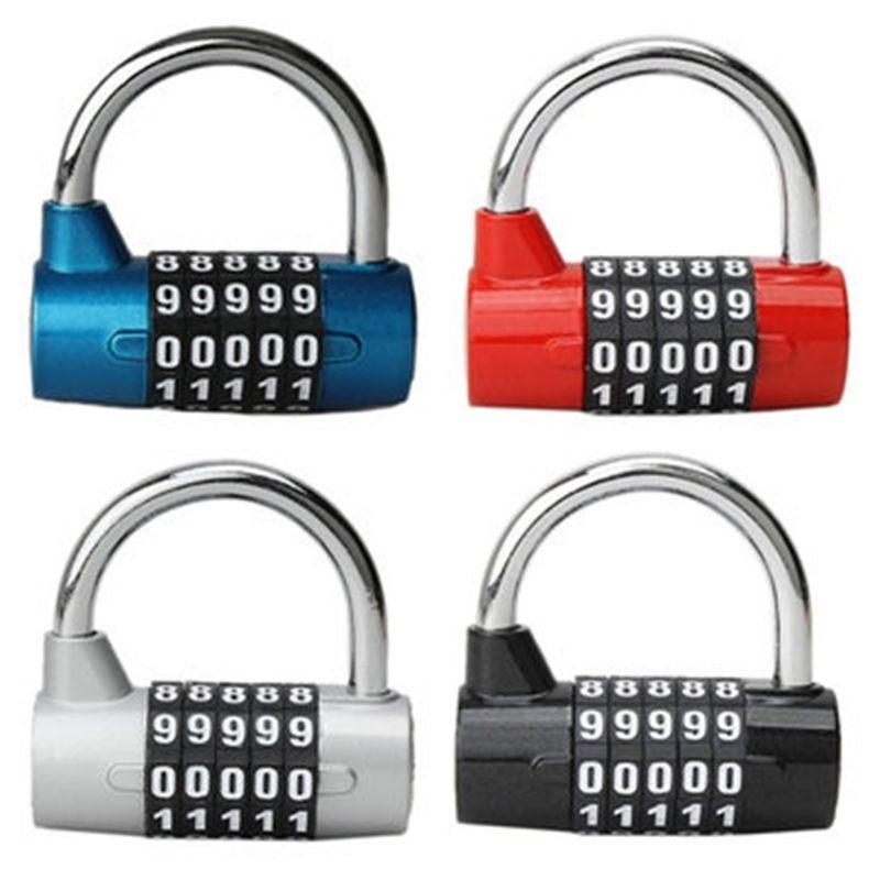 4 أو 5 أرقام الأمن قفل حقيبة سفر عملية الأمتعة قفل قفل