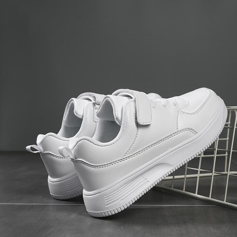 White Kids Shoes For Boys And Girls Fashion Children Casual Shoes Non-slip Sneakers 201130