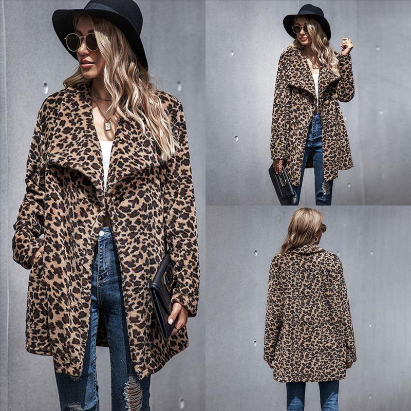 p2r4c mulher crianças jaqueta jaqueta esto estilo britânico lapela único-breasted grande colarinho leopardo casaco de outono lã criança criança de mangas compridas