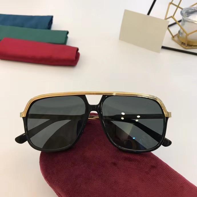 جديد أعلى جودة 0200 رجل نظارات الرجال نظارات الشمس النساء النظارات الشمسية نمط الأزياء يحمي عيون مزاجه نظارات الشمس مع مربع