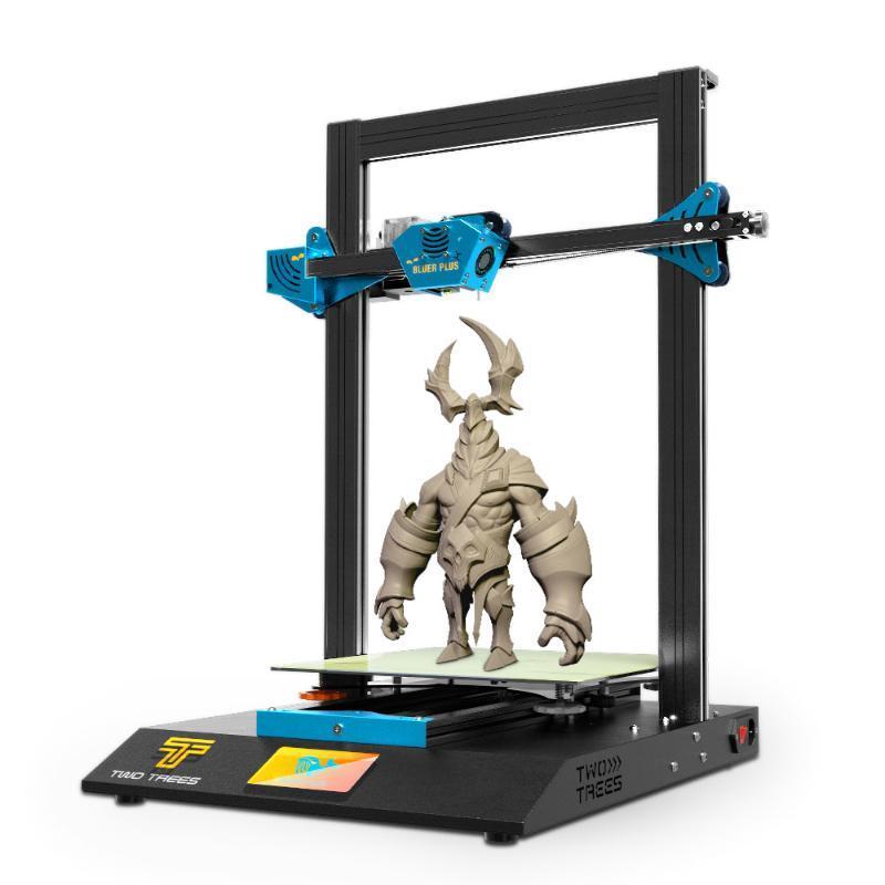 Two Trees Bluer Plus I3 Mega Upgrade TMC2209 PEI Large Size Metal frame High Precision Touch Screen 3D Printer kit impressora