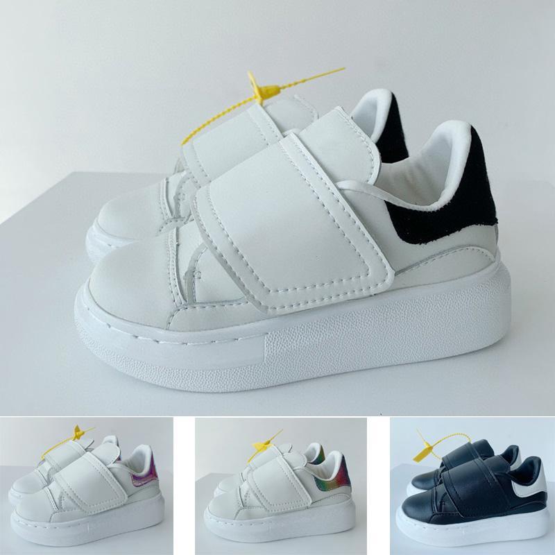 2021 Diseñador Bajo Casual Entrenador Niños Niños Niños Niños Jóvenes Skate Sneaker Moda Deporte Zapatillas de correr Tamaño 26-35