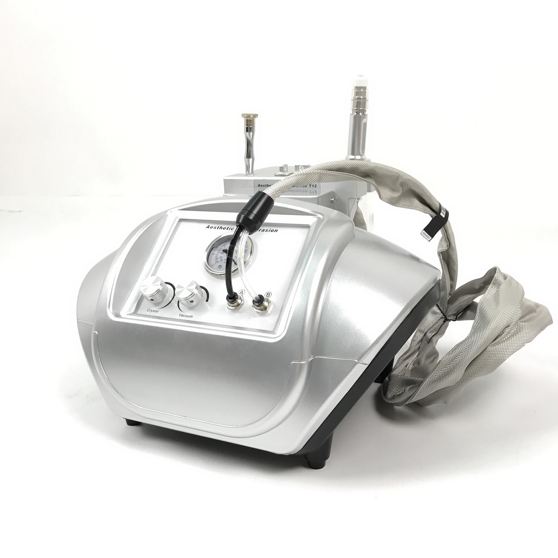 حار بيع جلدي الماس تقشير و الكريستال جلدي الوجه قشر آلة T12 آلة جمال الوجه في الأوراق المالية جاهزة للشحن